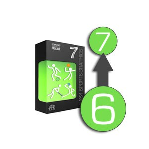 easy Sports-Graphics 7 PROFESSIONAL UPDATE de la vérsion 6 a 7